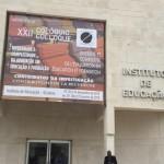 Fachada do Instituto de Educação da Universidade de Lisboa