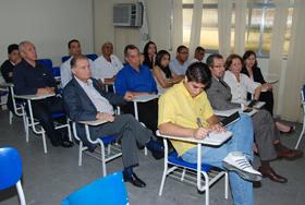 Membros da CPA reunidos.