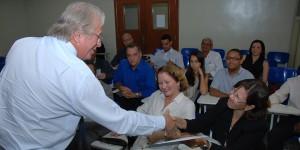 Reitor da Unigranrio Arody Herdy parabeniza membros da CPA