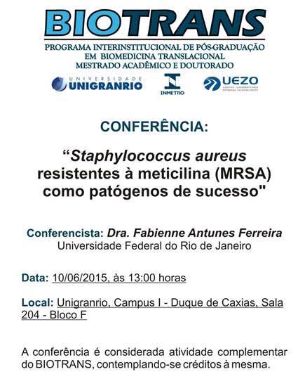 Conferência Biotrans - 10 de Junho de 2015