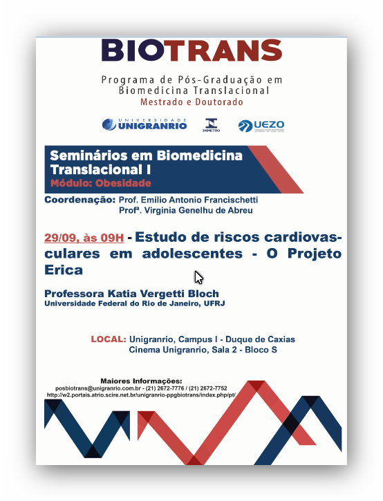 Conferência - Biomedicina Translacional
