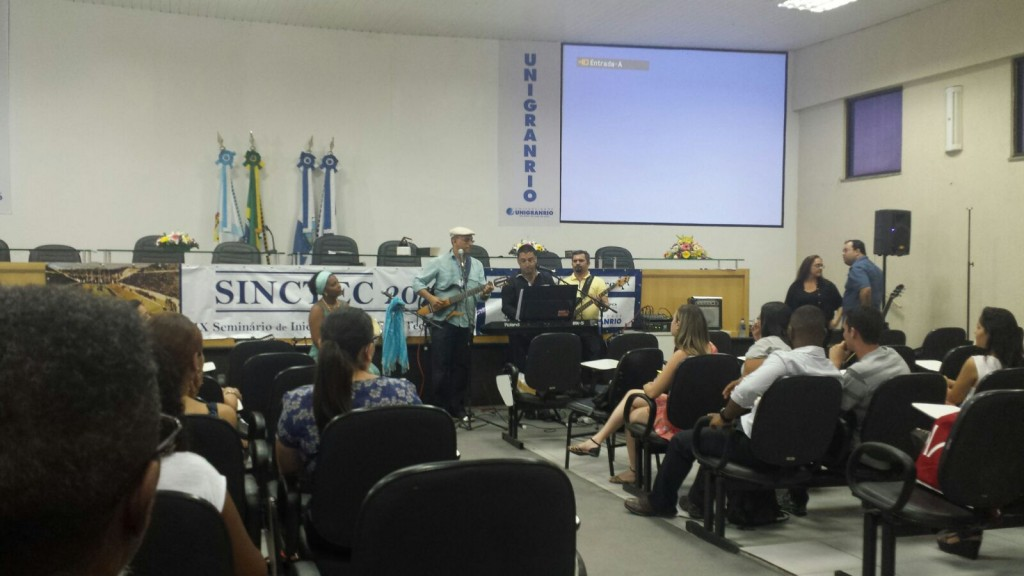 Sarau do SINCTEC 2015