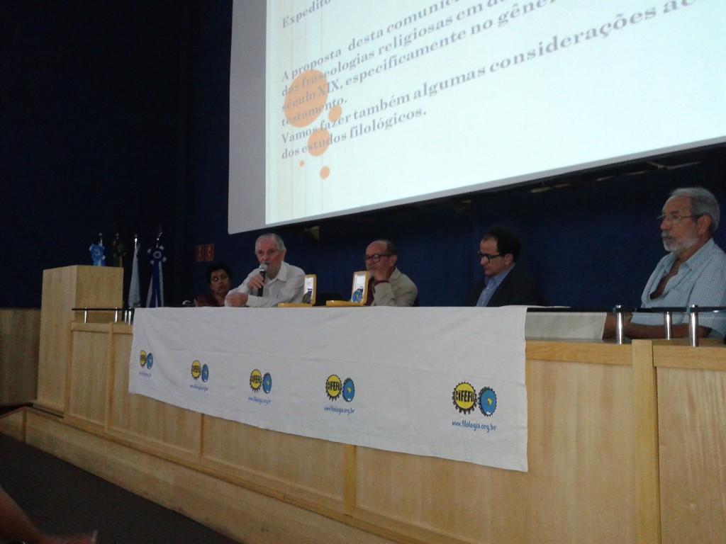 Condecoração dos Professores Destaque em Linguística e Filologia