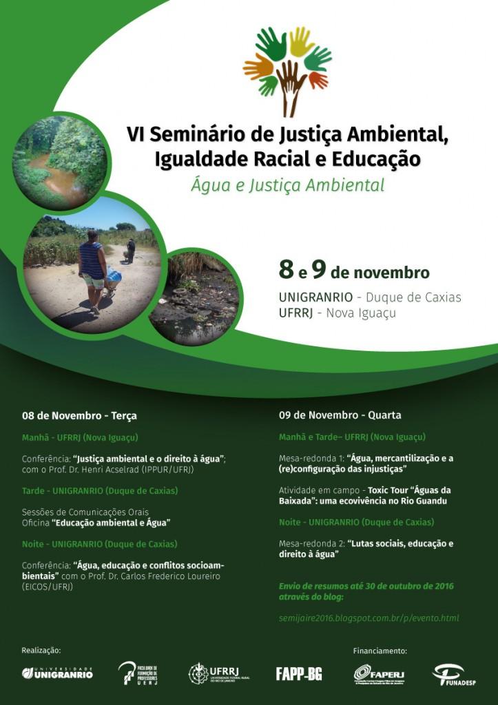 Seminário nos dias 8 e 9 de novembro